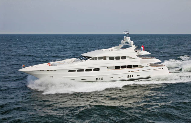 MY Latitude - Dutch Yachts
